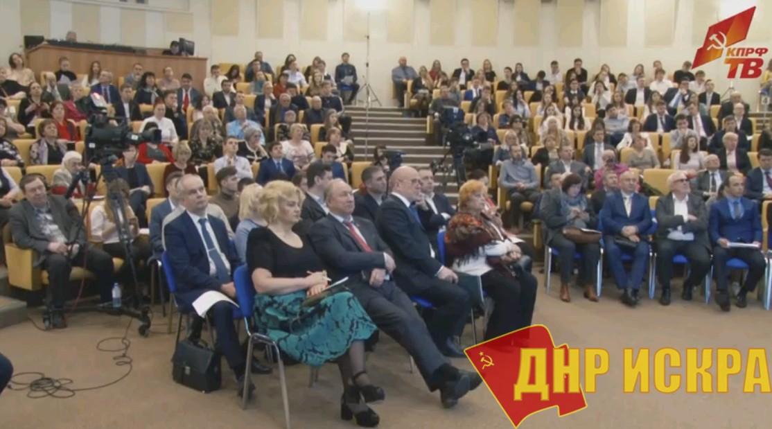 Г.А. Зюганов: У президента и правительства остался год для принятия важнейших решений