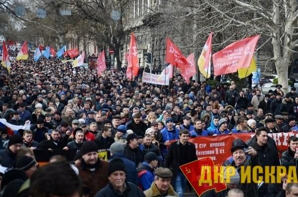 Антифашисты вышли на улицы Одессы