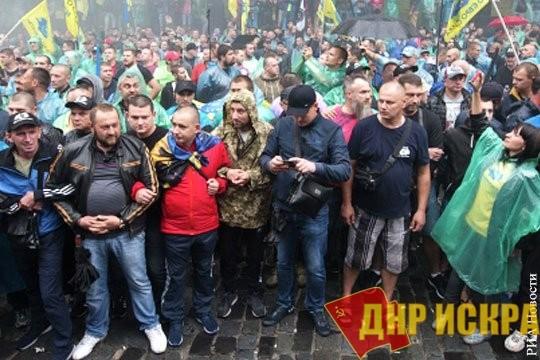 Европейские смотрины на фоне голодных бунтов