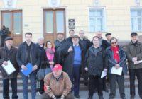 «Красный ручеек» под окнами Конституционного суда РФ