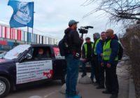 Протесты жёлтых жилетов у Останкинского телецентра