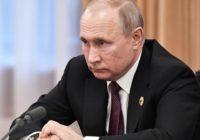 Рейтинг президента Путина упал до 13-летнего минимума