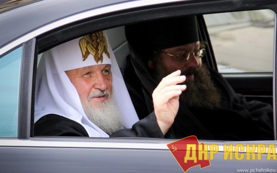 Патриарх Кирилл: РПЦ строит по три храма в сутки