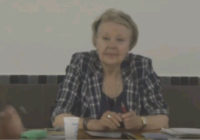 «Русская и советская поэзия, как стратегия». Видеолекция Л.Г. Барановой-Гонченко на семинаре РУСО