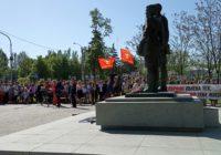 В Петровском районе Донецка прошла акция Бессмертный полк