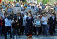 Киргизия. День Победы со Сталиным