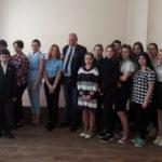 Ко Дню Республики учащаяся молодежь Донецка встретилась с Борисом Литвиновым