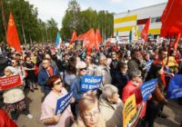 От Урала до Сыктывкара: Протест набирает обороты по всей стране