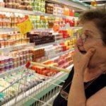 Когда главная задача - просто прокормиться. Россияне стали тратить на еду больше трети своего дохода