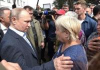 Власти работают только ради показухи. Визит Путина в затопленный Тулун скрыли от местных жителей