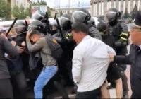 Звереют… Полтора десятка человек в ночь на 12 сентября были доставлены в отдел полиции