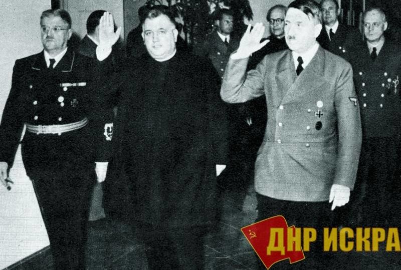 Йозеф Тисо и Гитлер