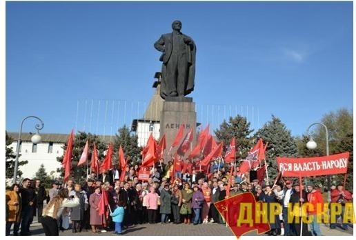 Массовый протест - как веление времени и оружие трудового народа в борьбе за свои права