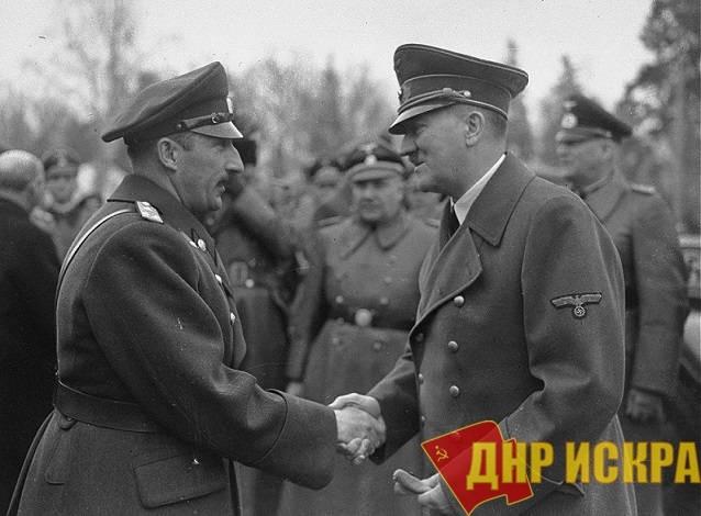 Царь Борис и Адольф Гитлер