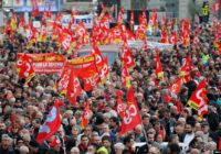 Вторая волна протестов против пенсионной реформы во Франции
