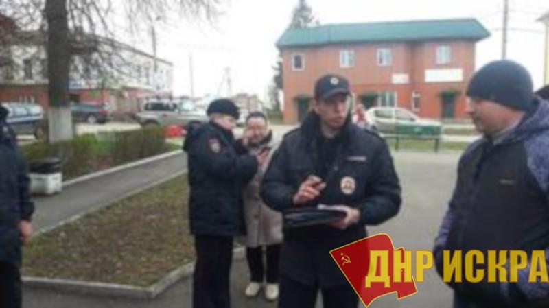 Тульская область. Коммунистам из Алексина выписали штрафы по 25 тысяч рублей каждому за возложение цветов к памятнику Ленину