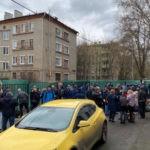 Трудящиеся Москвы не прогибаются перед буржуазией!