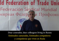 Приветственное сообщение Генерального секретаря ВФП в день антифашистской победы RU (EN-SP SUBS)