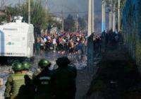 Чилийцы возвысили голос против политики социального геноцида