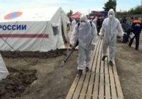 Калмыкия закрыла границу с Дагестаном из-за катастрофического развития эпидемии. Реальная картина происходящего остаётся неизвестной