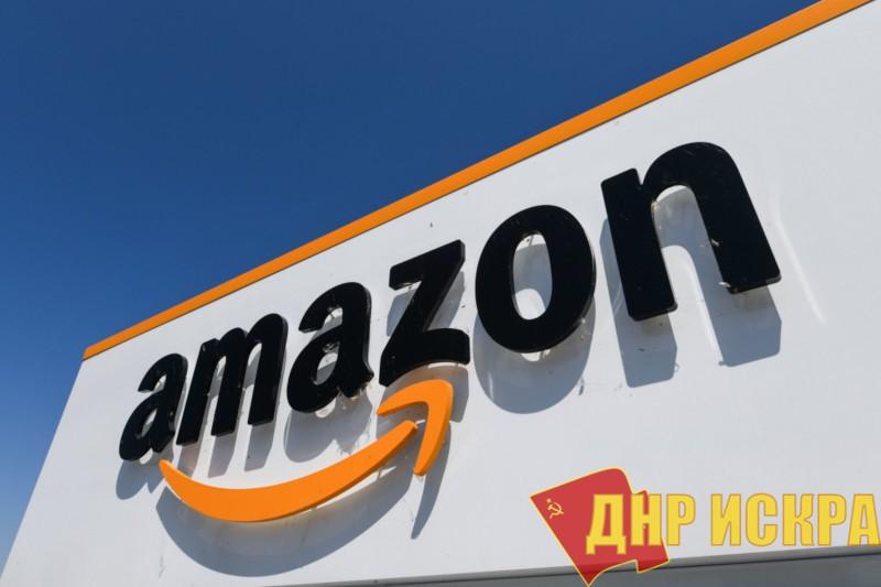 Фото логотипа компании Amazon