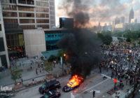 Протесты в США в мае