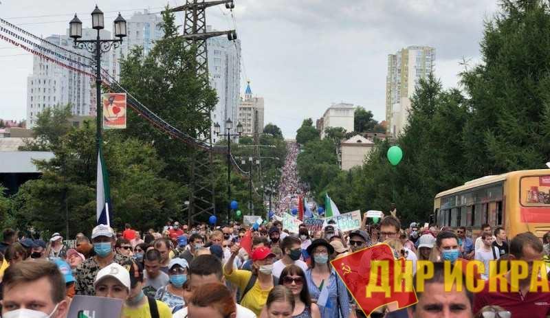 Россияне начинают солидаризироваться с участниками протестных выступлений в Хабаровском крае