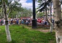 Протест в Охе. Охинцы могут остаться без рабочих мест?