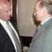 Путин и Горбачев