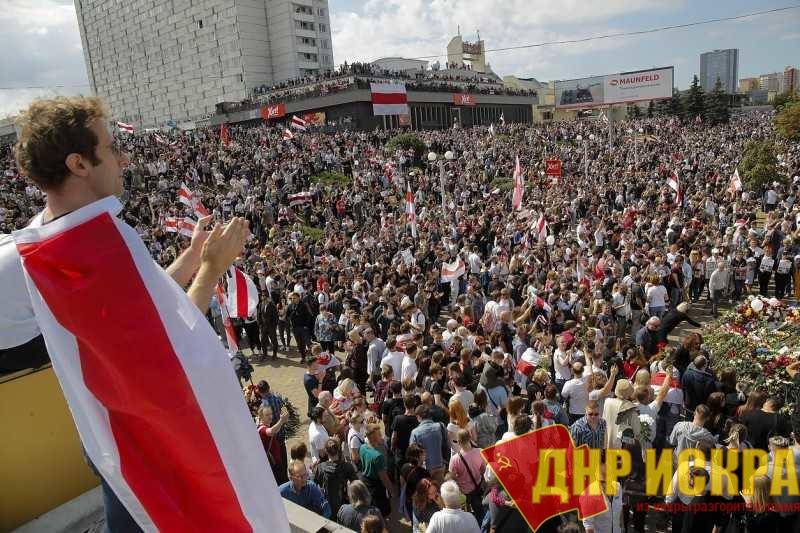 Многотысячные выступления оппозиционных режиму Лукашенко сил в Белоруссии