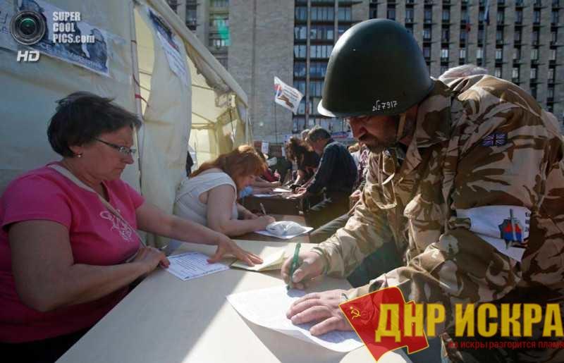 Открытое заявление от имени граждан ДНР по поводу выступления г-на Басурина и положения ополченцев в ДНР