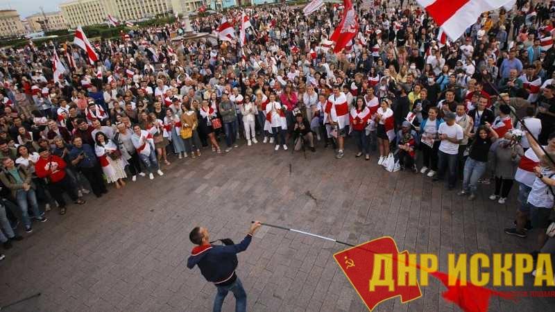Заявление Объединения коммунистов большевиков Донбасса по ситуации в Белоруссии.