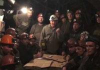 Шахтёры Кривого Рога протестуют против произвола украинских олигархов