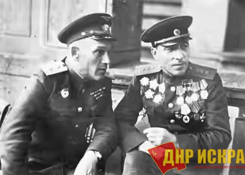 С генералом авиации Василием Георгиевичем Рязановым