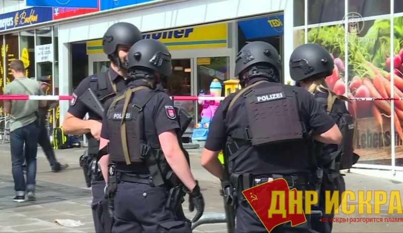 Обыски в Гамбурге