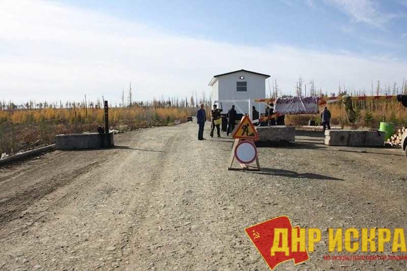 Средневековые рогатки на дорогах в Красноярском крае