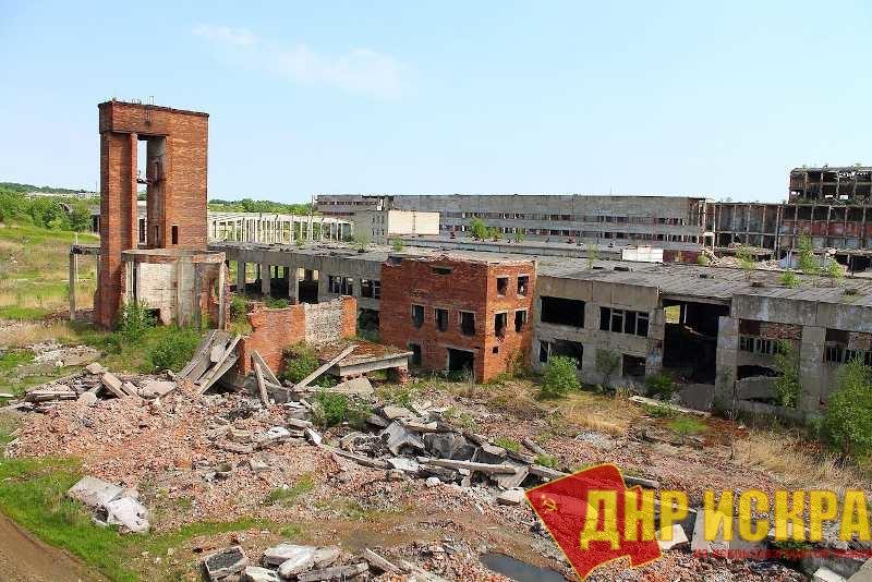 Разрушение промышленности - характерная черта для всего постсоветского пространства.