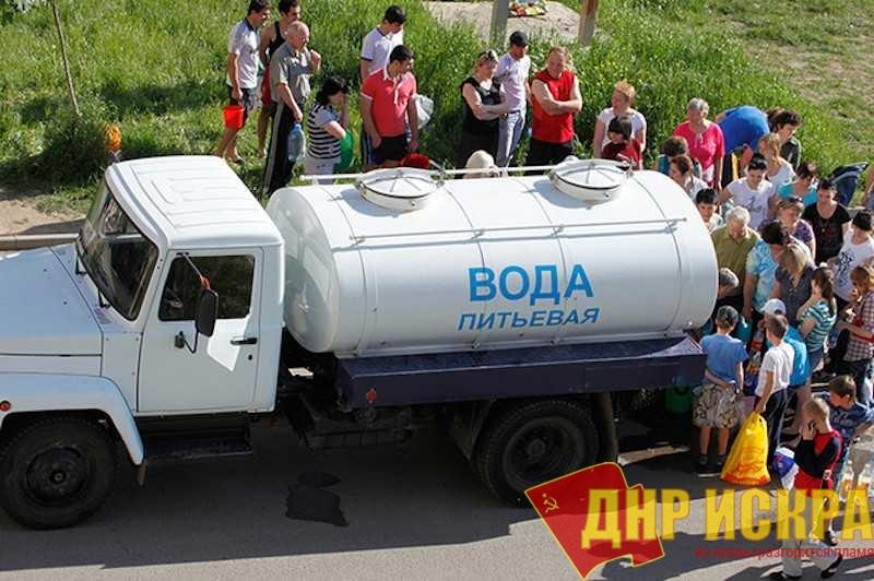 Крым остается без воды