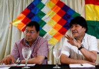 Провал «цветной революции» в Боливии
