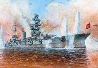 Красными флагами славны корабли