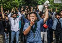 Индонезийские протестующие