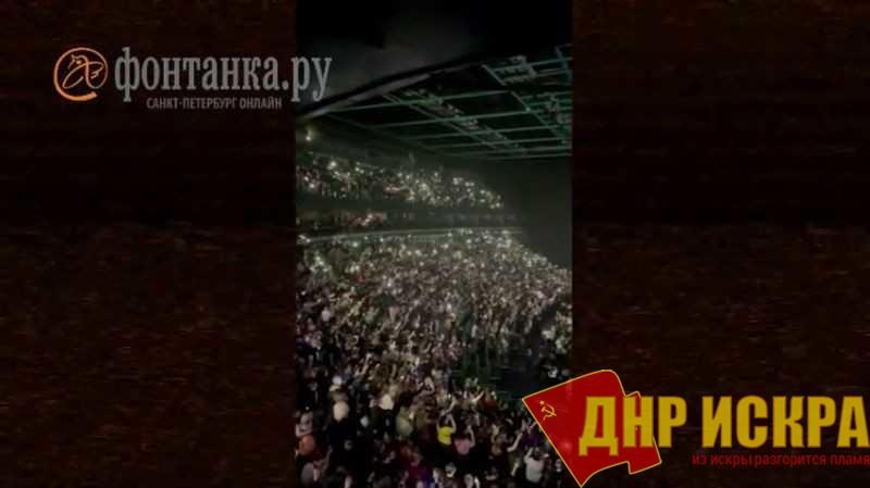 Концерт рэпера Баста в Санкт-Петербурге