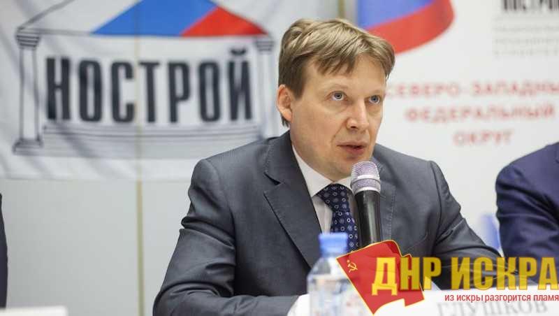 Президент НОСТРОЙ Антон Глушков