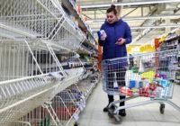 Хроники великой державы: продуктовые карточки на подходе