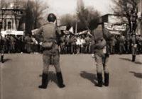 Тбилисский расстрел большевиков и им сочувствующих подстилками Хрущева