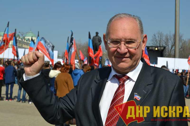Поздравление Бориса Литвинова с Днем провозглашения ДНР