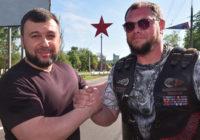 Денис Пушилин одобрил установку огромной красной звезды на въезде в Донецк
