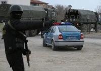 Вооруженную полицию вывели на улицы Жанаозена